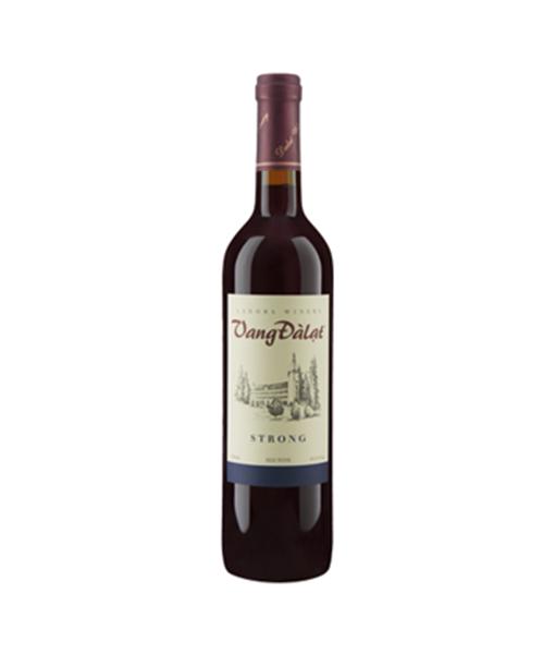 Rượu Vang Đà Lạt Strong Red Wine