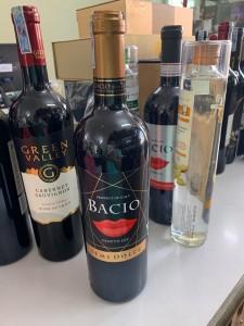 Rượu vang Ý ngọt Bacio Semi Dolce